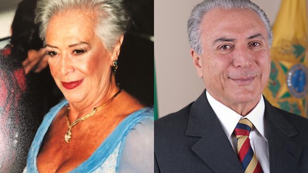 Claudia Raia publica foto da mãe e usuários comentam: 'é a cara do Temer'