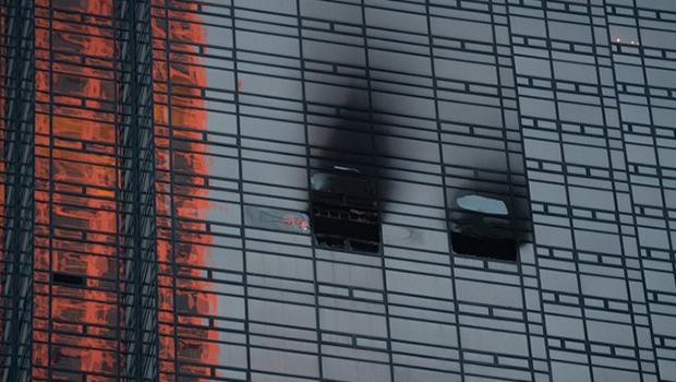 Incêndio no prédio do presidente Trump deixa um morto e quatro feridos