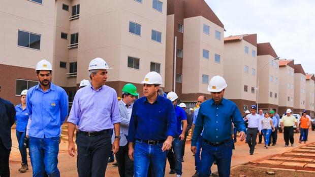 Presidente da Agehab atribui avanços da habitação ao dinamismo das parcerias de José Eliton