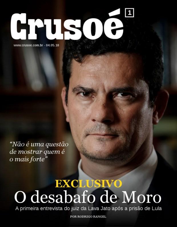 Resultado de imagem para foto da revista crusoé