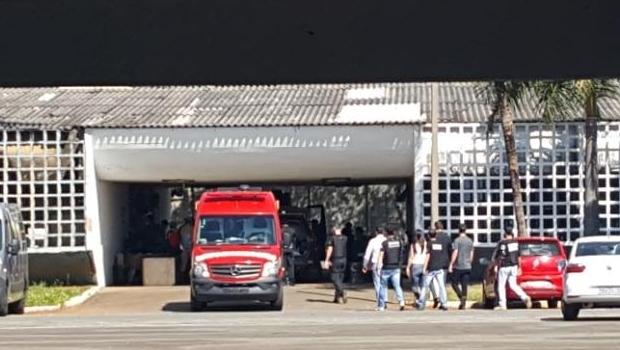 Sobrevivente de incêndio em centro de internação segue na UTI em estado grave