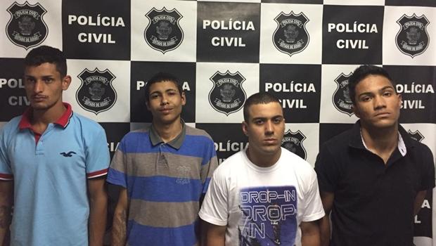 Polícia Civil prende quadrilha que pretendia traficar drogas na pecuária de Morrinhos