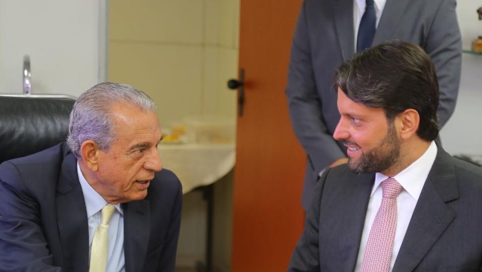 Baldy visita Goiânia para discutir projeto de conclusão da avenida Leste-Oeste