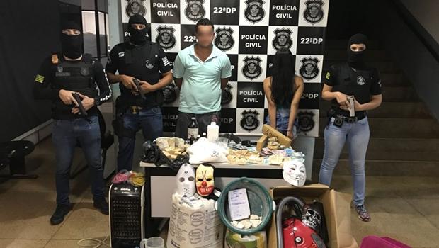 Investigado por tráfico é preso em flagrante por tentar subornar policiais