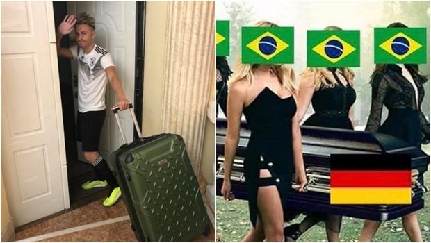 Alemanha é eliminada da Copa e brasileiros vão à loucura. Veja os memes