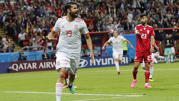 Com jogo difícil, Espanha vence o Irã por 1 a 0