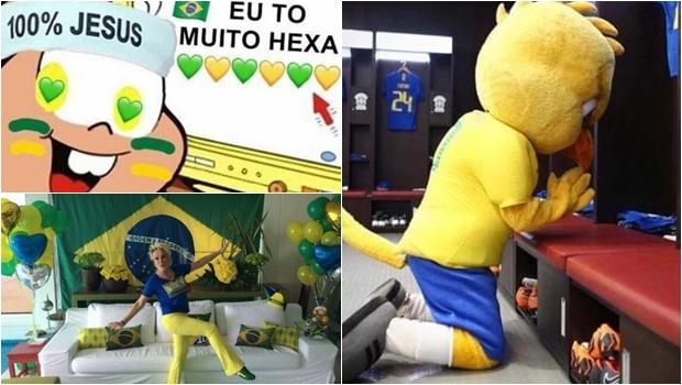 Brasileiros se movimentam nas redes para terceiro jogo do Brasil na copa. Veja os memes