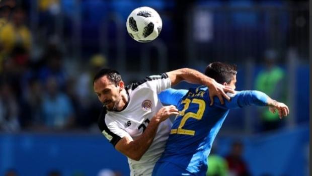 Primeiro tempo entre Brasil e Costa Rica termina sem gols