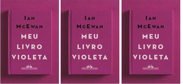 """Companhia das Letras lança """"Meu Livro Violeta"""", de Ian McEwan"""