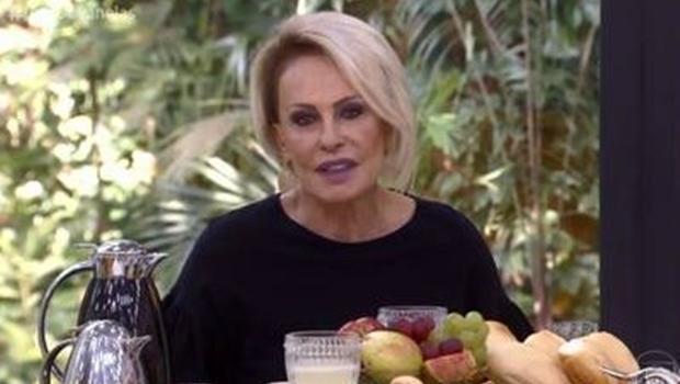 Ana Maria Braga parabeniza ao vivo ator morto há 5 meses