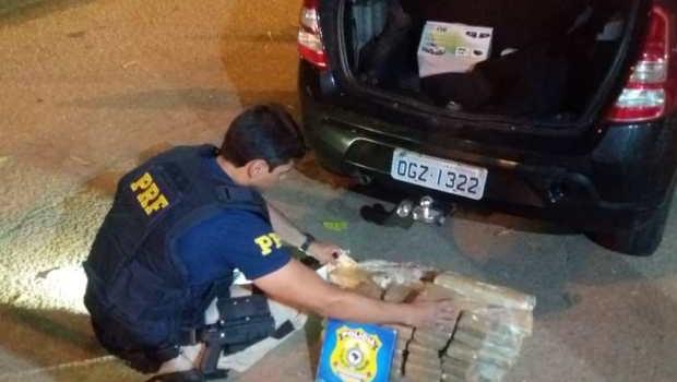 Motorista de Uber é preso por tráfico de drogas em Goiás