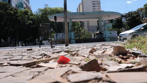 Reconstruída há três anos, Praça Cívica é esquecida pela gestão Iris