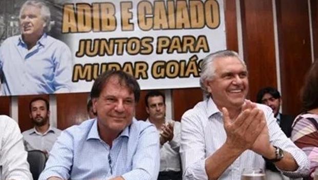 Dissidentes do MDB são preteridos por Caiado em escolha de vice