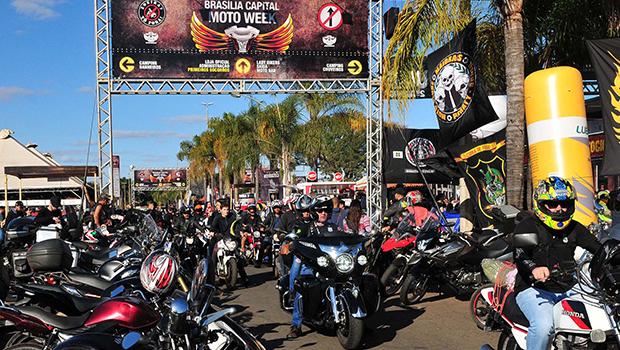 Brasília recebe maior encontro de motociclistas da América Latina