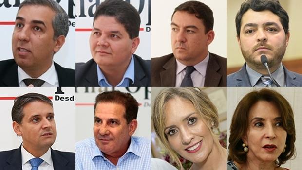 Raquel Teixeira é cotada para vice de José Eliton e José Vitti para suplente de Marconi