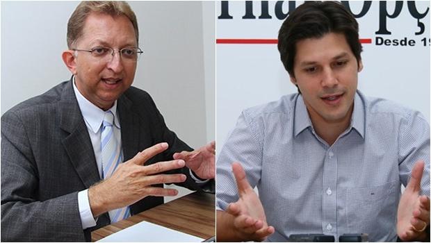 """João Campos """"ama"""" Daniel Vilela e bases do PRB """"amam"""" José Eliton"""