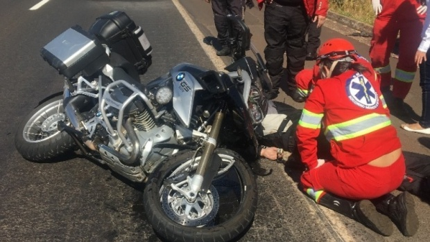 Membro de grupo de motociclistas morre em acidente na BR-153, em Goiás