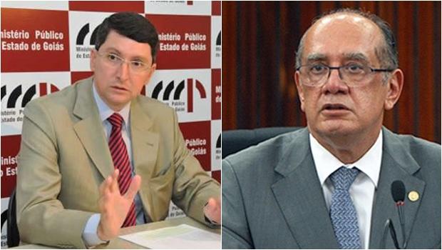Gilmar Mendes apresenta queixa-crime contra promotor goiano Fernando Krebs