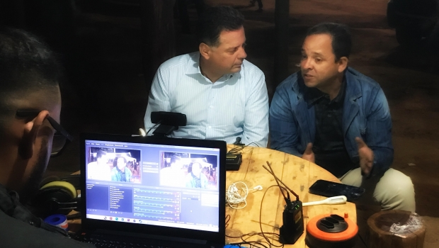 Marconi Perillo enaltece parceria com prefeito de Uruaçu