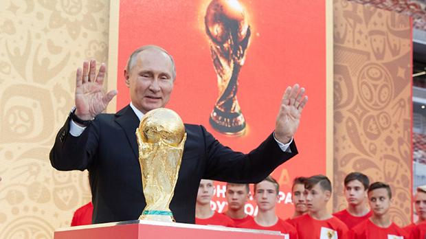 Não importa o resultado dentro de campo. O vencedor da Copa do Mundo é Vladimir Putin