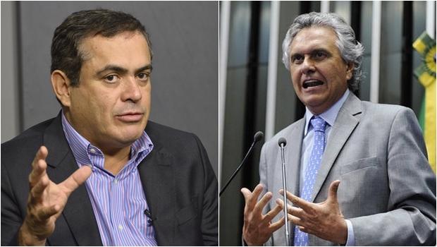 Caiado visita TCE e Sebastião Tejota repassa dados sobre finanças do governo do Estado