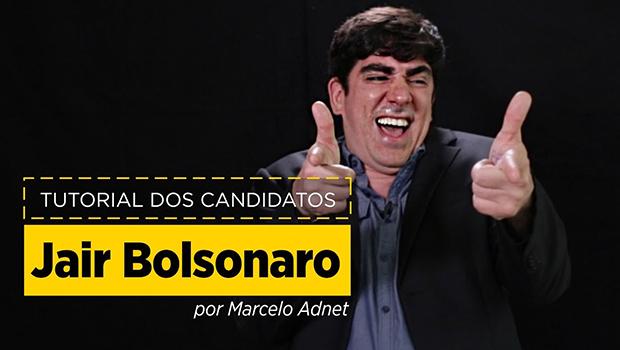 Marcelo Adnet faz paródia de Bolsonaro em vídeo hilário
