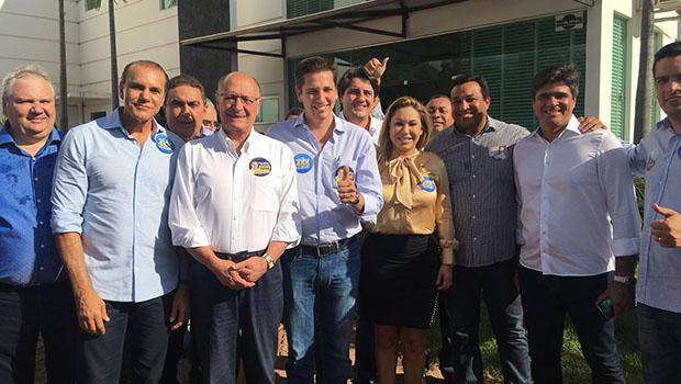 Alckmin promete duplicar a BR-153 para aumentar renda no Tocantins