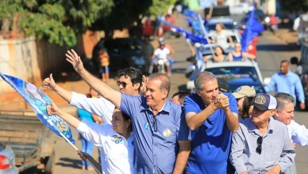 Megacarreata em apoio a José Eliton reúne mais de 2 mil veículos em Goianira