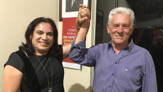 Professora Geli diz que Gomide será o candidato do PT a prefeito de Anápolis