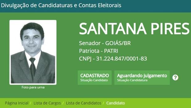 Santana Pires, do Patriota, lança candidatura separada ao Senado