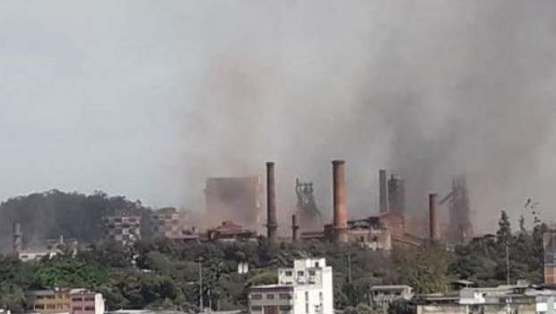 Explosão deixa feridos e usina é evacuada em Ipatinga, Minas Gerais