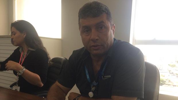 Engenheiro responsável pela Enel em Goiânia visita redação do Jornal Opção