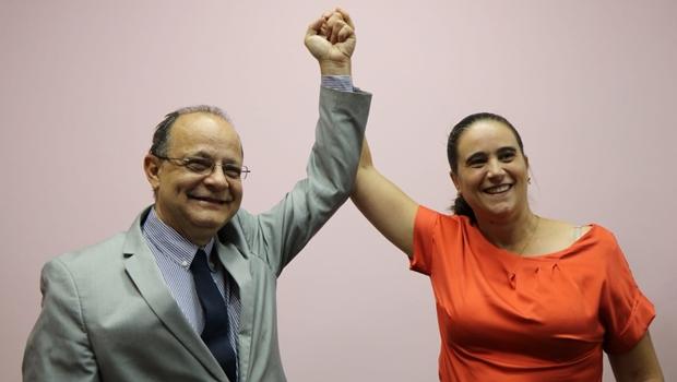 Nivaldo Santos é anunciado como vice na chapa de Kátia Maria
