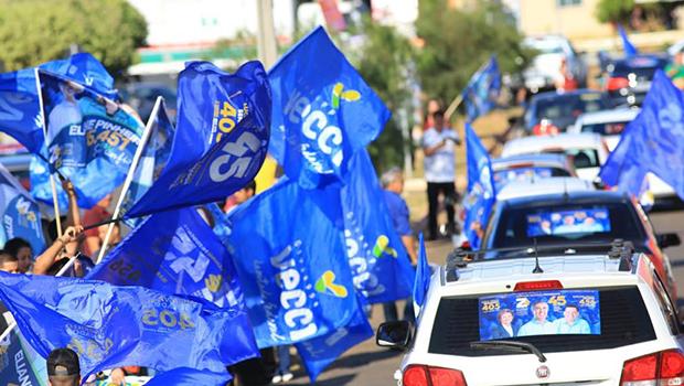 Carreatas da coligação Goiás Avança Mais passam por 50 cidades neste domingo (19)
