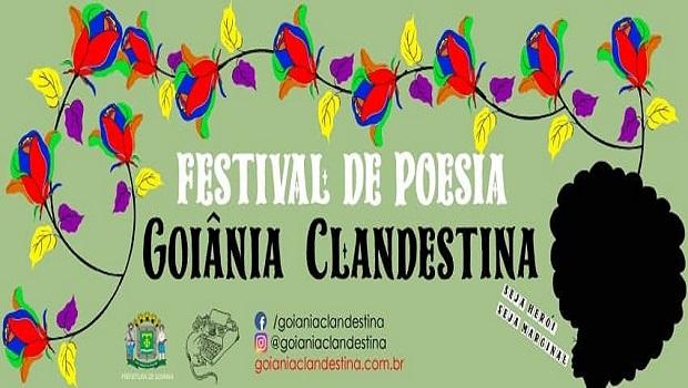 Festival de Poesia Goiânia Clandestina acontece neste domingo