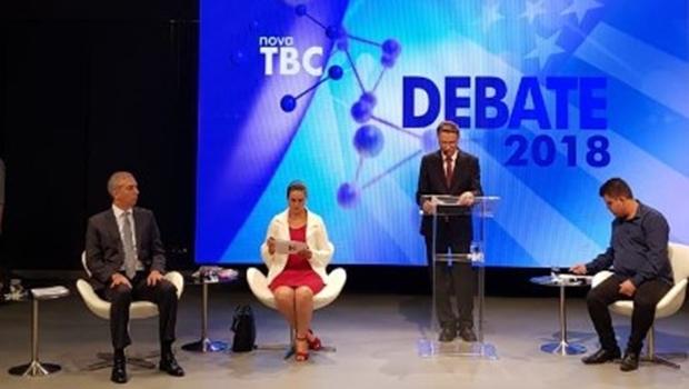 TBC realiza primeiro debate da TV entre candidatos ao governo. Acompanhe