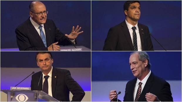Primeiro debate presidenciável não empolga e vira piada. Assista