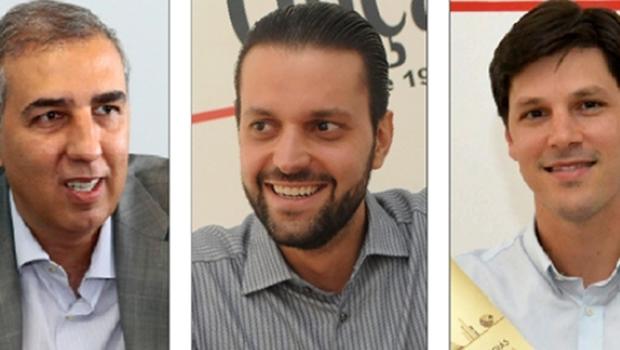 José Eliton, Daniel Vilela e Baldy são os novos players da política de Goiás