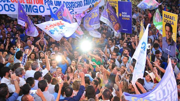 Comitê central da campanha de José Eliton é inaugurado em Goiânia