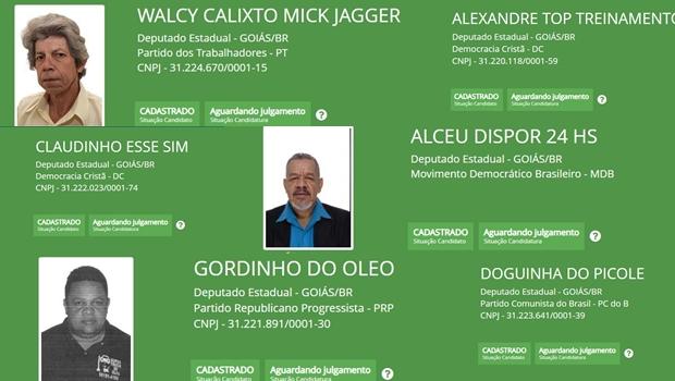 Confira os nomes mais inusitados usados pelos candidatos a deputado em Goiás