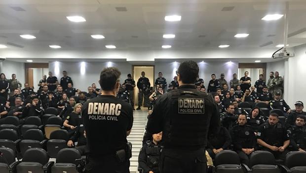 PC deflagra operação contra o tráfico de drogas em Goiás