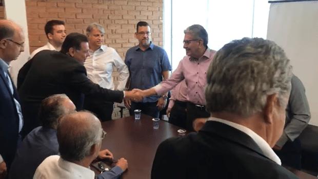 Marconi recebe apoio da Associação dos Hospitais Privados de Alta Complexidade de Goiás