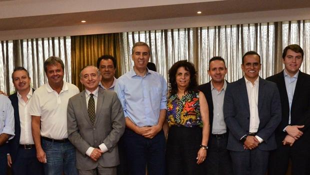 Vereadores da Grande Goiânia elogiam mandato e declaram apoio à reeleição de Zé Eliton