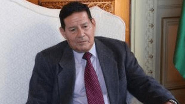 General Mourão é indicado vice na chapa de Bolsonaro