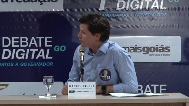 Caiado encontrou a pedra no caminho que não queria em seu discurso de oposição: Daniel Vilela