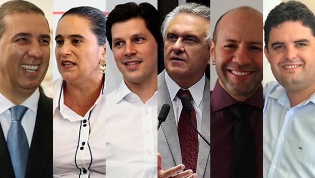 Confira agenda dos candidatos ao governo de Goiás desta quinta-feira (13)