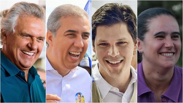 Diagnóstico/Jornal Opção: Caiado lidera com 4,9 pontos a mais que soma dos adversários