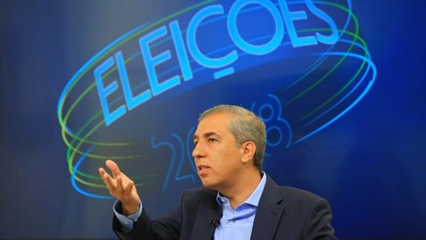 Na TV, Eliton presta contas de situação fiscal do Estado e reafirma compromisso com medidas de austeridade