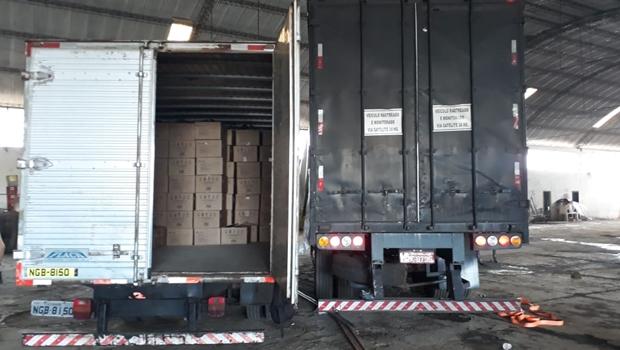 Polícia prende cinco pessoas suspeitas de roubo de carga mais de R$ 1 milhão, em Goiânia