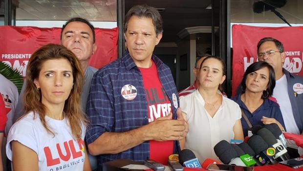 Haddad eleva o tom, critica e desafia Bolsonaro
